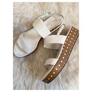 Kate Spade - Leather Flatform Sandals sz. 10